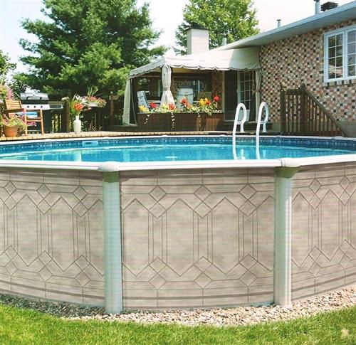 Splash Swimming Pools: Trevi 206 Above Ground Swimming Pool